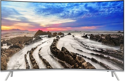 Samsung Series 7 139.7cm (55 inch) Ultra HD (4K) Curved LED Smart TV
