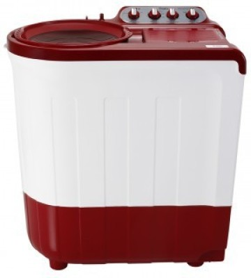 Whirlpool 8 kg Semi Automatic Top Load Washing Machine Red