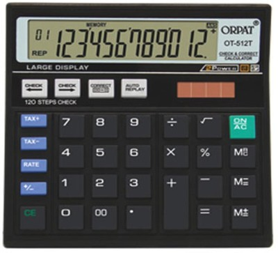 Orpat Orpat 512T 12 Digits With 120 Steps Basic  Calculator