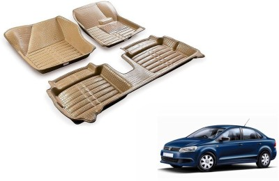 Accedre Leather 5D Mat For  Volkswagen Vento