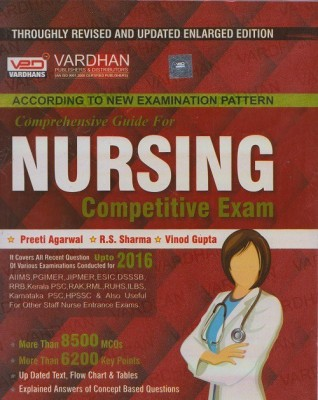 Nursing Competitive Exam Comprehensive Guide Vardhan Book