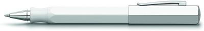 Faber-Castell 147511 Ondoro White Roller Ball Pen