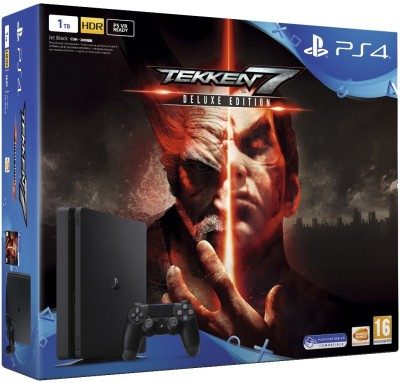 Sony PlayStation 4 (PS4) Slim 1 TB with Tekken 7 (Deluxe Edition)