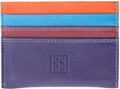 Dudu Women Casual Multicolor Genuine Leather Card Holder