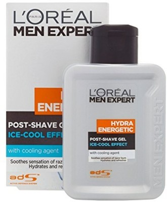 L'Oreal Paris Imported Men Expert Hydra Energetic Post Shave Gel (Ice Cool Effect)