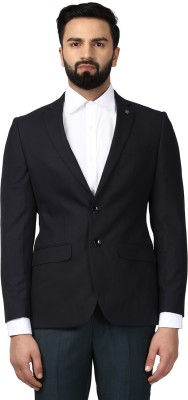 Raymond Solid Single Breasted Formal Men Blazer