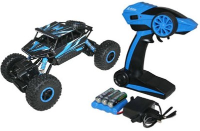 Dhawani Rock Crawler Rechargeable RC 4WD Rally Car 1:18 Scale 2.4GHz