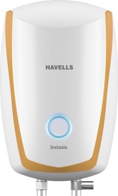 Havells 3 L Instant Water Geyser (INSTANIO, White-Mustard)