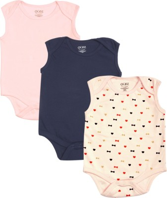 Gkidz Baby Boys & Baby Girls Multicolor Bodysuit