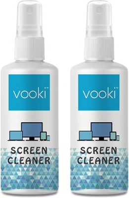 VOOKI Pack of 2 | Mobile Screen Cleaner (Free Shipping) | ECO Friendly for Mobiles, Computers, Laptops