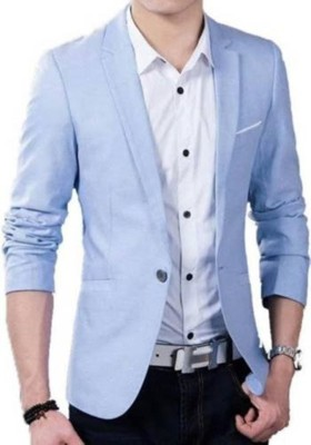 Redwood Solid Single Breasted Festive, Party, Formal, Casual, Wedding Men Blazer