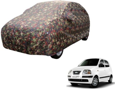 Mockhe Car Cover For Hyundai Santro Xing (Without Mirror Pockets)