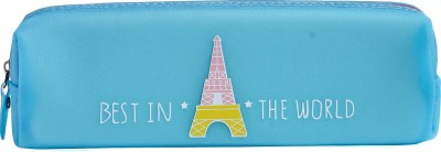 Uberlyfe 1673 Paris Eiffel Tower Art Plastic Pencil Box
