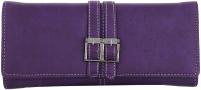 Fantosy Women Casual Purple Artificial Leather Card Holder