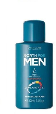Oriflame Sweden North For Men Unlimited Aftershave Splash