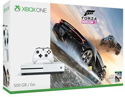 Microsoft Xbox One S Console - Forza Horizon 3 Bundle 500 GB GB withforza