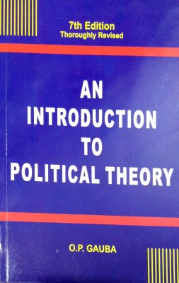 An Introduction To Political Theory