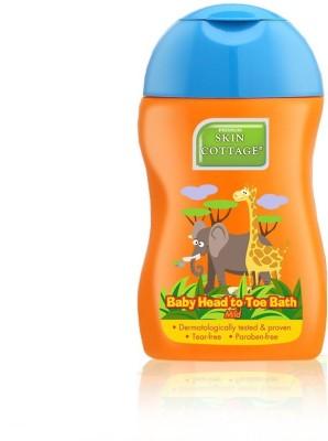 Premium Skin Cottage Baby Head to Toe Bath + Shampoo | Mild | No Paraben | Without Silicone | Tear Free