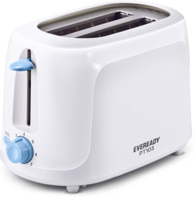 Eveready PT 103 700 W Pop Up Toaster