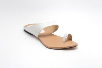 Royal Collection Women White Flats