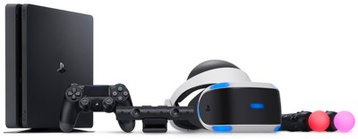 Sony Ps4 Console and VR Bundle 1 TB GB with no