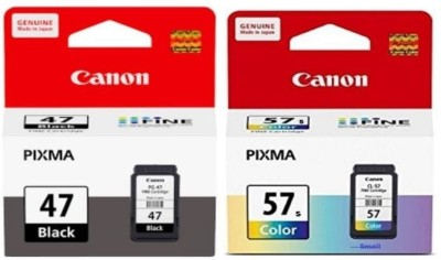 Canon 47 & 57 Small [SET OF 2] Multi Color Ink Cartridge