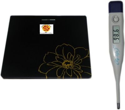 NSC 5699 weighing scale And EZ-life Thermometer Health Care Appliance Combo