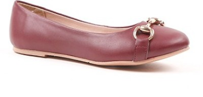 Miss CL By Carlton London CLL-4145 Women Maroon Bellies