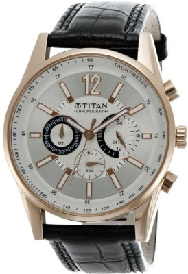 Titan NC9322WL01 Octane Hybrid Watch  - For Men