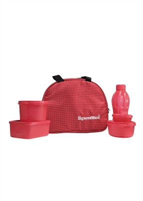 Signoraware 558Red 5 Containers Lunch Box