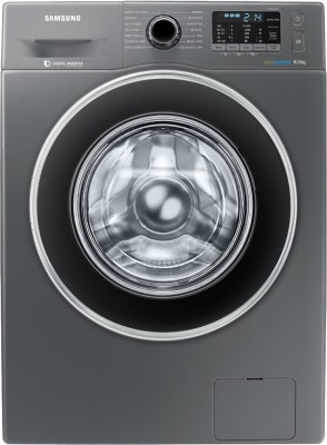 Samsung 8 kg Fully Automatic Front Load with In-built Heater Grey