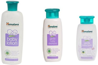 Himalaya Baby Care Combo (Shampoo,Lotion & Baby Bath)