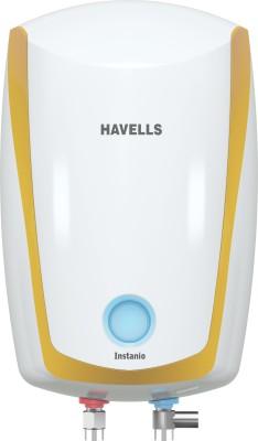 Havells 6 L Storage Water Geyser (INSTANIO, White Mustard)