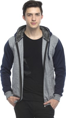 Lambency Full Sleeve Solid Men's Sweatshirt