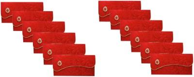 FashBlush Kraft Handmade Festivals/ Gifts/Shagun/Cash Wedding Envelopes (Pack Of 12) Envelopes