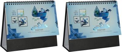 Gathbandhan Save Water Theme Desk Calender 2018 Table Calendar