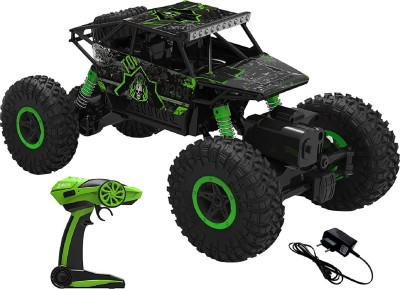 Dhawani fastdeal Remote Controlled Rock Crawler RC Monster Truck, Green