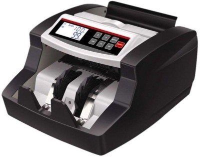 MANIA ELECTRO LCD Display Money Bill Counter Counting Machine Counterfeit Detector UV & MG Cash Bank Note Counting Machine