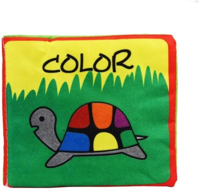 Esclusivo KIDS EARLY LEARNING CLOTH BOOK COLORS
