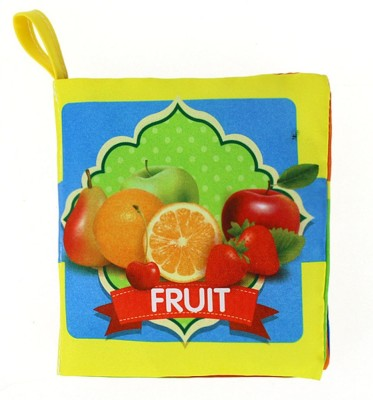Esclusivo KIDS EARLY LEARNING CLOTH BOOK FRUIT