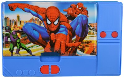 Techhark Spiderman Spiderman Art Plastic Pencil Box