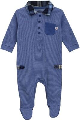 Mini Klub Baby Boys Blue Sleepsuit