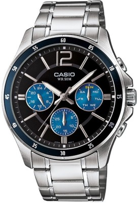 Casio A950 Enticer Analog Watch  - For Men