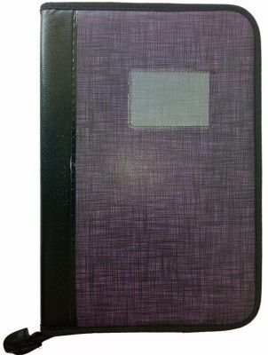 Indcrown Synthetic Leather File Folder Document A4