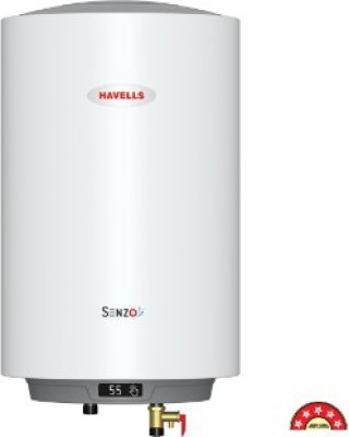 Havells 25 L Storage Water Geyser (Senzo, White)