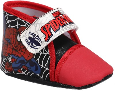 Spiderman Boys Velcro Casual Boots