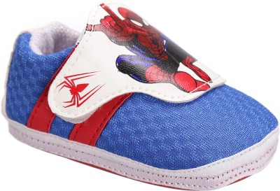 Spiderman Boys Velcro Walking Shoes