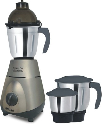 Inalsa Compact Plus 750 W Mixer Grinder