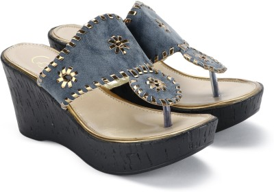 Catwalk Women BLUE Wedges