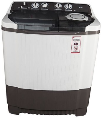 LG 8 kg Semi Automatic Top Load Washing Machine Grey